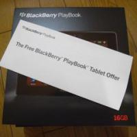 BlackBerry PlayBookがやってきた