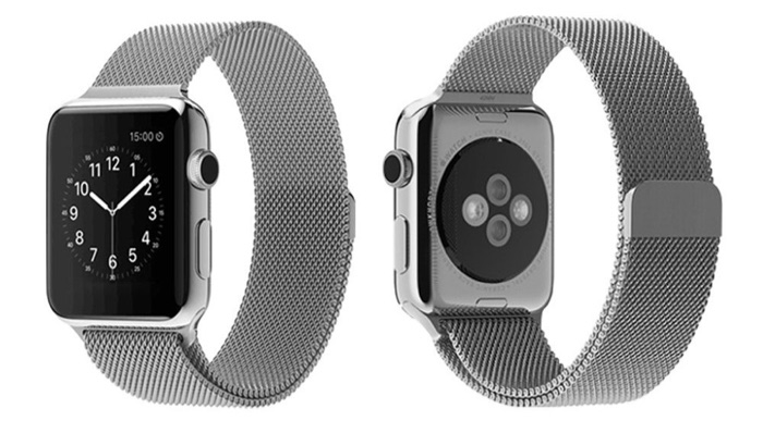Apple Watch Band Milanese Type