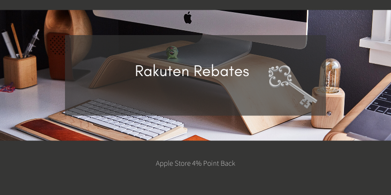 Apple Store via Rebates 4% Point Back