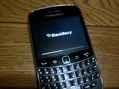 2011/08/30 BlackBerryBold 9900が来たよ